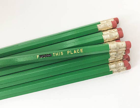 Sweet Perversion - F*ck This Place Pencil Set