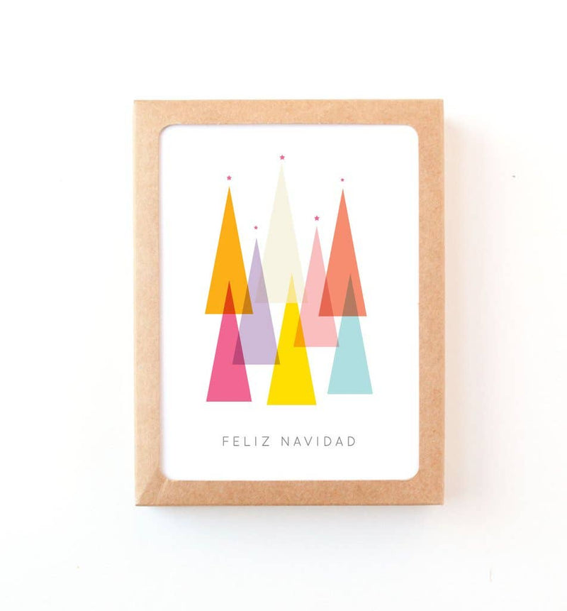 Graphic Anthology - Feliz Navidad Spanish Holiday Greeting Card (Boxed Set of 8)