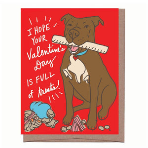 La Familia Green - Valentine Treats Card