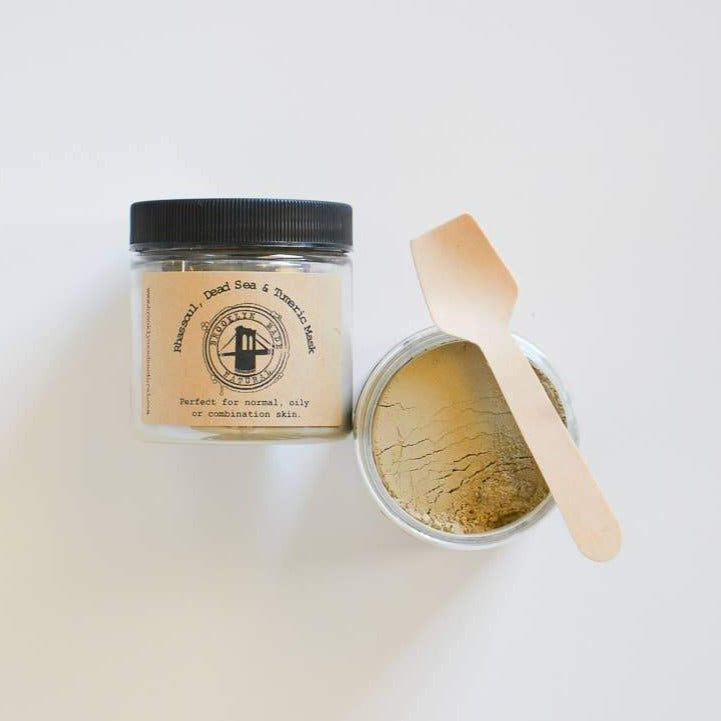 Rhassoul, Dead Sea & Turmeric Face Mask