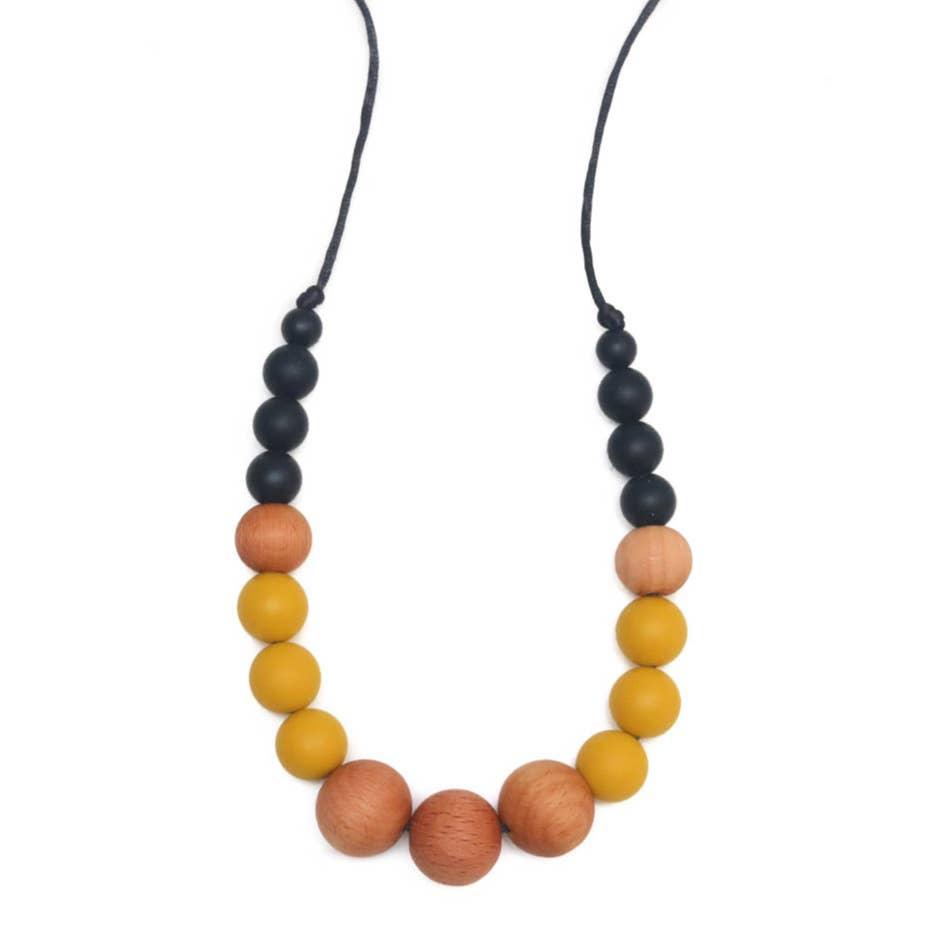 Getting Sew Crafty - Teething Necklace - Mustard