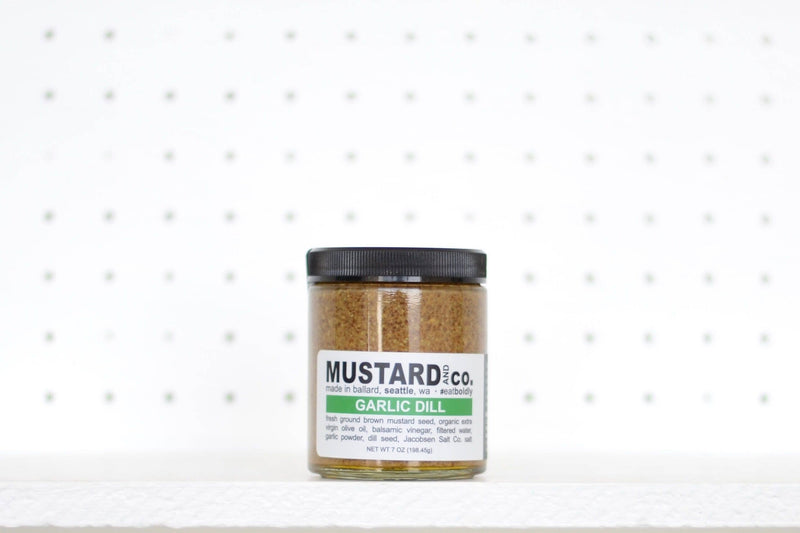 Mustard and Co. - 7 oz Garlic Dill Mustard