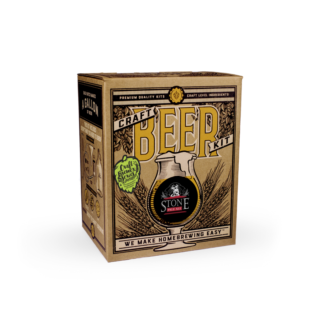 Craft a Brew - Stone Pale Ale Brewing Kit (Brew at home!)