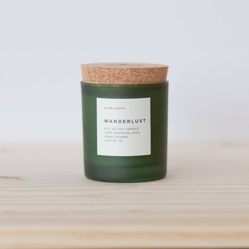 Slow North - Wanderlust Frosted Candle