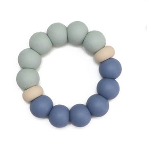 Silicone Teether - Parker -|Mystic Hydrangea|