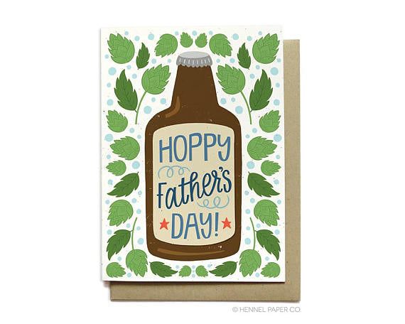 Hennel Paper Co. - Hoppy Father's Day Card