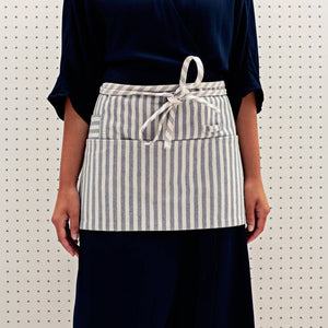 MEEMA - Striped Waist Apron