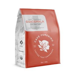 Cafe Femenino Coffee - Organic Fair Trade Guatemala Whole Bean Coffee