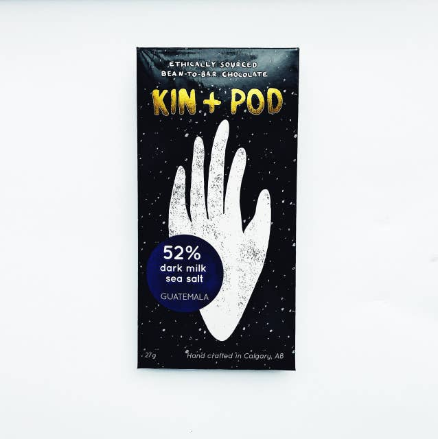 Kin+Pod Chocolate - 55% Guatemala Dark Milk Chocolate