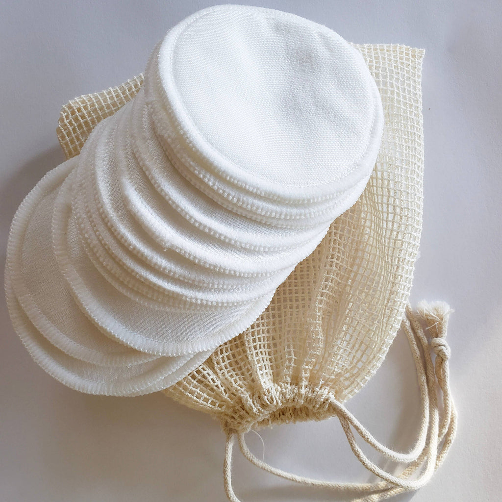 Organic Reusable Cotton Rounds - Zero Waste