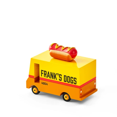 Candycar Hot Dog Van