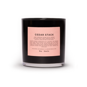 Boy Smells Candle - Cedar Stack