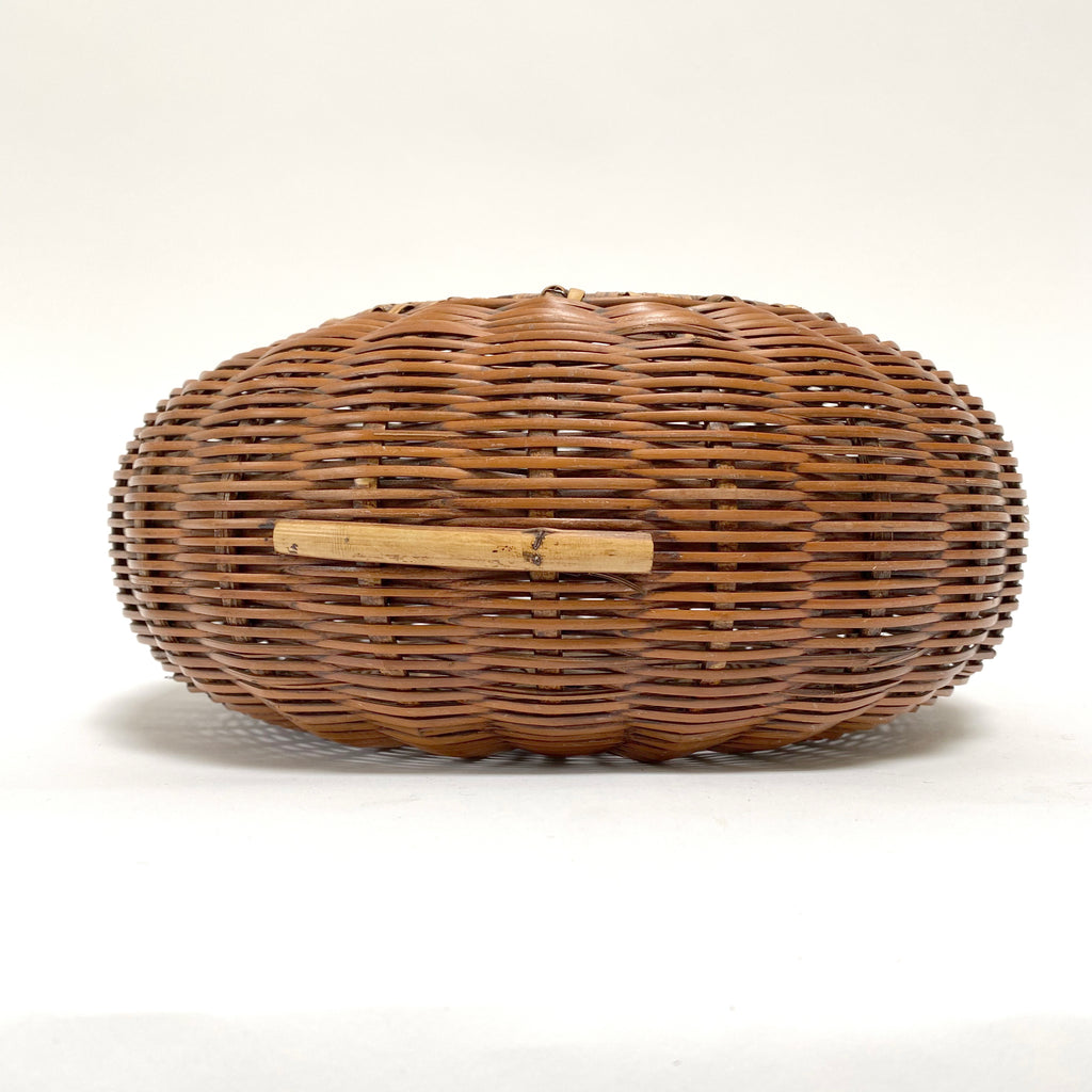 Flat Woven Plant Basket - Description Coming!