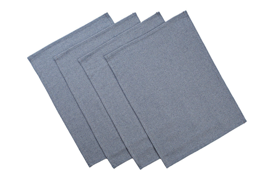 MEEMA - Blue Cotton Placemat -  Set of 4