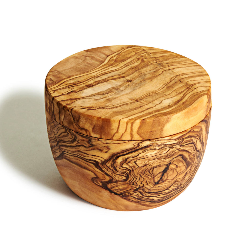 Natural OliveWood - Salt Cellar
