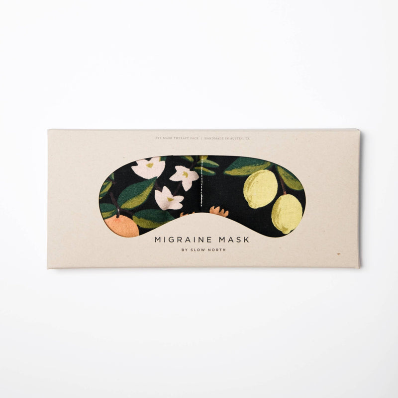 Eye Mask Therapy Pack - Citrus Print
