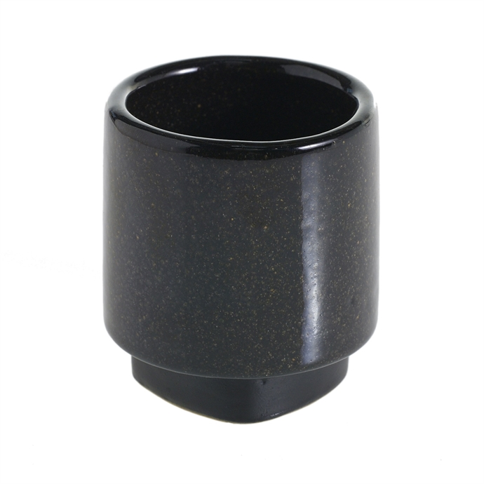 Cylinder Planter - Black Small