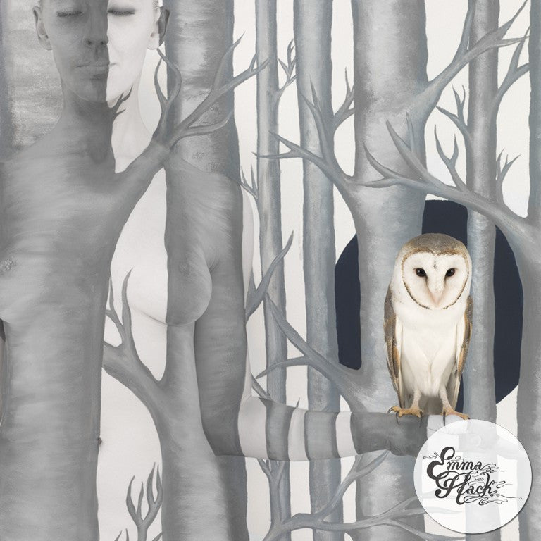 Owl in Woods II