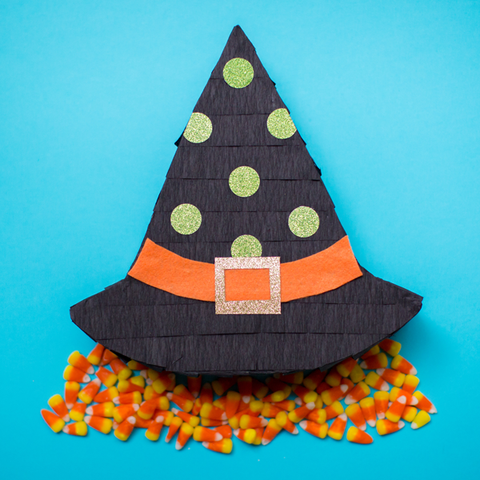 EMPTY Witch Hat Pinata