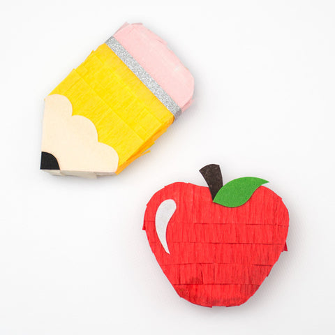 Teacher Appreciation Mini Pinatas - Set of 4