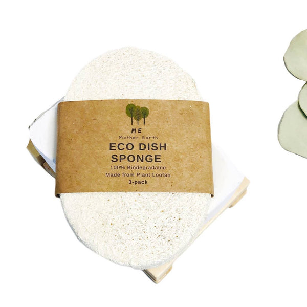 Eco Dish Sponges / Single Layer 3-Pack