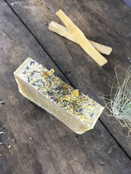 Calming Lavender and Chamomile Vegan Soap