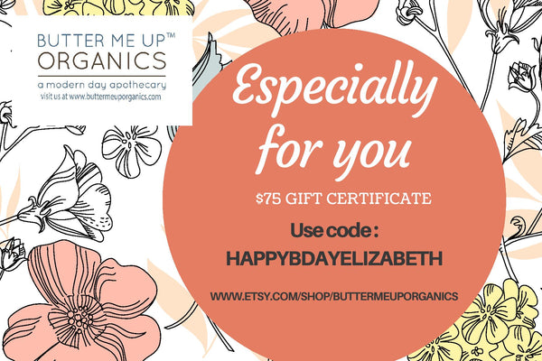 Personalized Gift Certificate