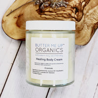 Healing Body Cream / organic body lotion / winter skin / dry skin / deep moisturizer