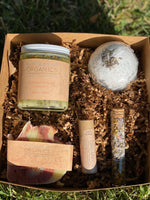 Zero Waste Gift Set, Organic Skincare Gift for Mom, Spa Gift Set