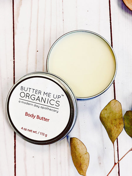 Organic Body Butter / Dry Skin / Moisturizer / Gardner's Hands Therapy / Stretch Marks / Winter Skin / Moisturizing Body Butter / Natural