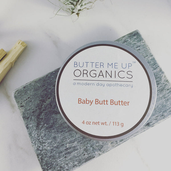 Baby Butt Butter / Organic Diaper Cream / Cloth Dipers Safe