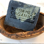 Organic Lemongrass Mint with Activated Charcoal and French Green Clay / VEGAN SOAP / PALM FREE