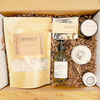 Organic Pamper Relaxation Kit / Spa Box / Gift Set / Skincare Gift Set / Bridesmaid's Gift / Bridesmaid's Present / Gifts for Brides / Gifts for Bridesmaids / Gifts for Maid of Honor