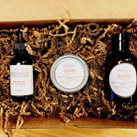 Organic Beard Kit / Best Beard On The Block / Organic Beard Wash / Organic Zbeard Balm / Organic Beard Wax / Organic Beard Oil