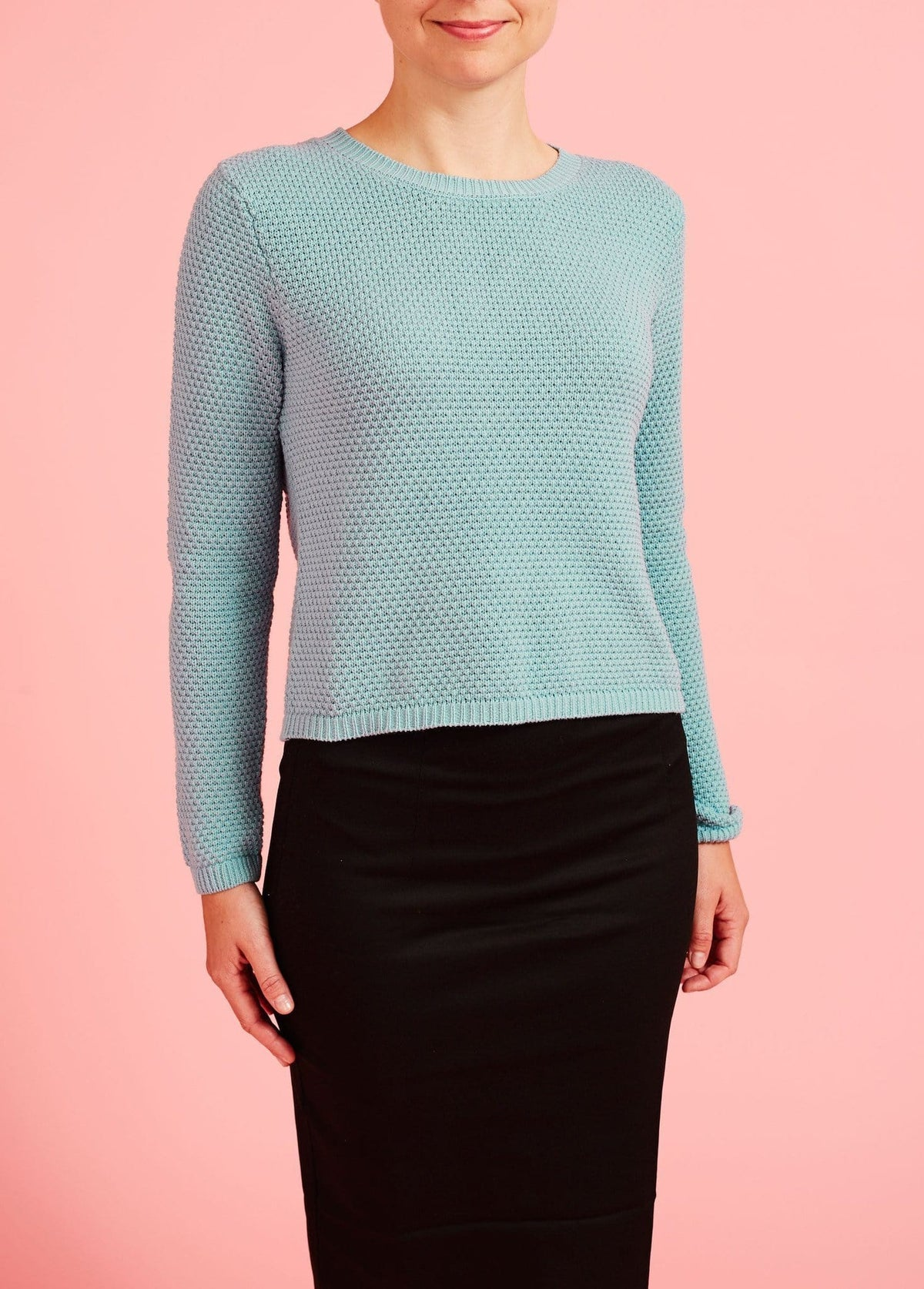 Emily & Fin: Kort, strikket sweater