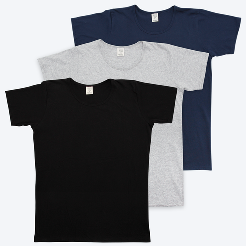 Mens Organic T-shirt 3 Pack