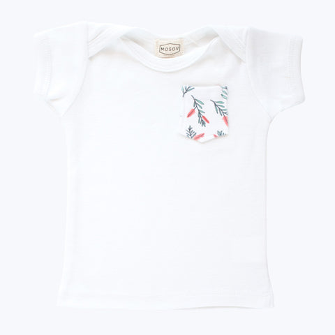 Bottlebrush Pocket Organic T-Shirt