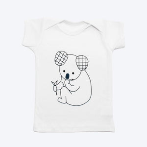 Organic Cotton Koala Baby T-shirt