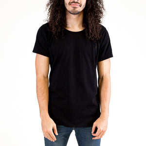 Mens Organic T-shirt Black 2 Pack