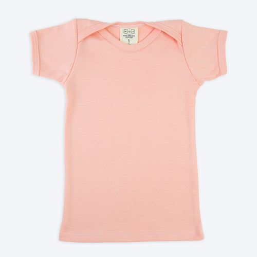 Pink Organic Cotton Baby Shirt
