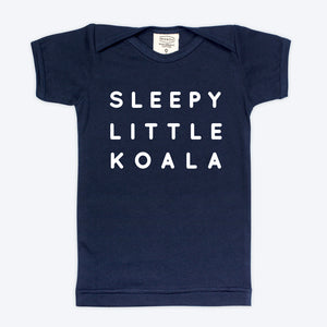 Sleepy Koala Navy T-shirt