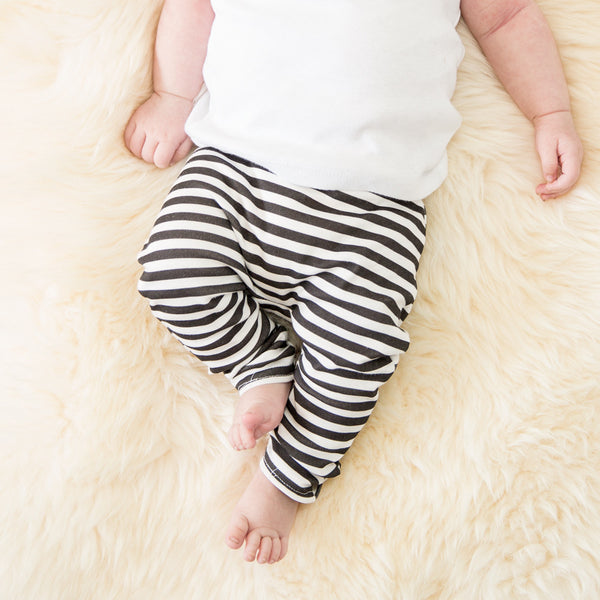 Stripe Organic Leggings
