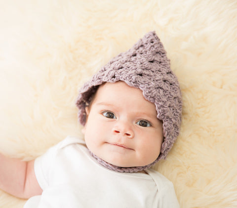 Organic Cotton Baby Bonnet