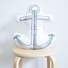 Load image into Gallery viewer, Anchor Organic Cotton Cushion