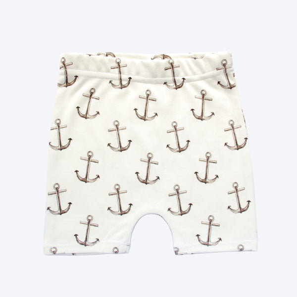 Organic Cotton Shorts - Anchor