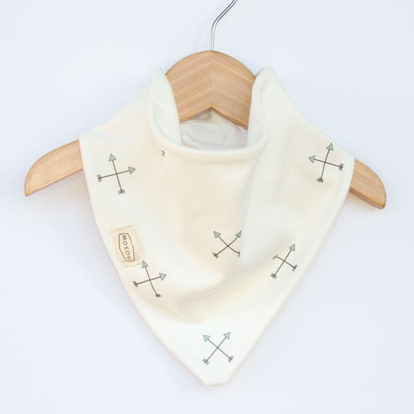 Organic Cotton Bib - Arrow
