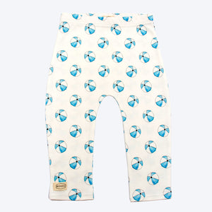 Organic Cotton Baby Leggings - Beachball
