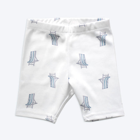 Organic Cotton Baby Shorts - Beach Chair