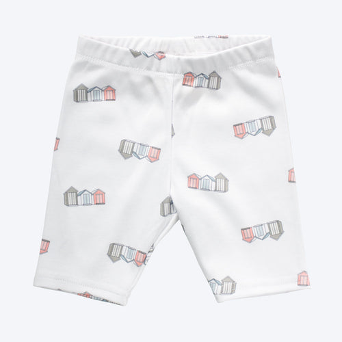 Organic Cotton Baby Shorts - Beach Huts