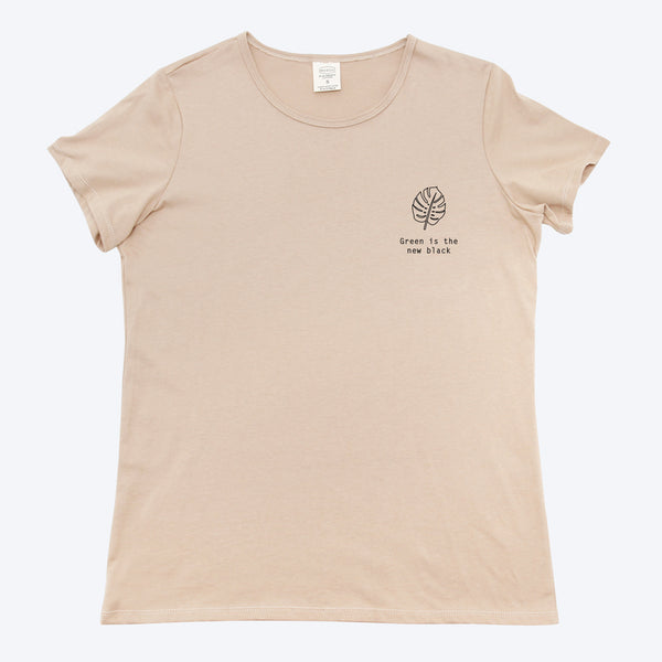 Monstera - Woman Printed Organic T-shirt